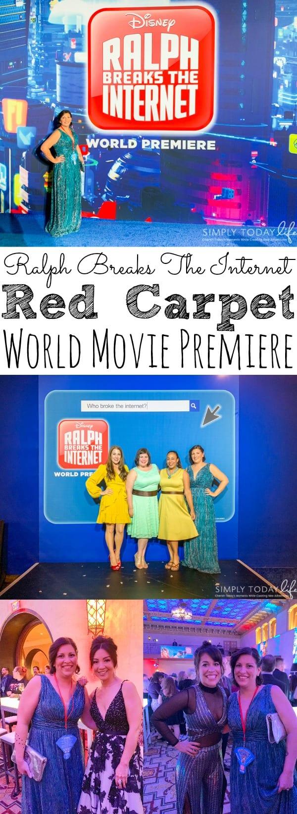 Ralph Breaks The Internet Movie Premiere Experience
