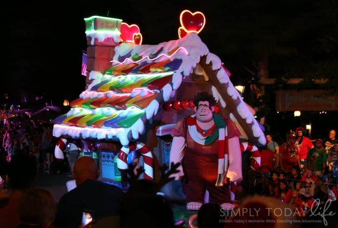 wreck-it ralph parade float