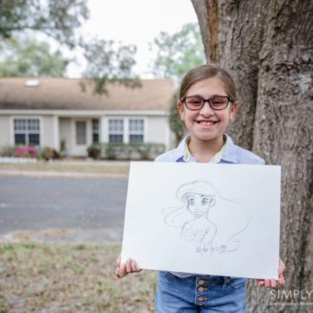 Mark Henn Ariel Drawing The Little Mermaid.jpg