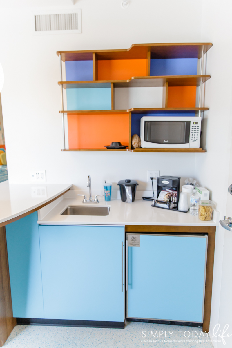 Cabana Bay Resort Family Suite Kitchenette