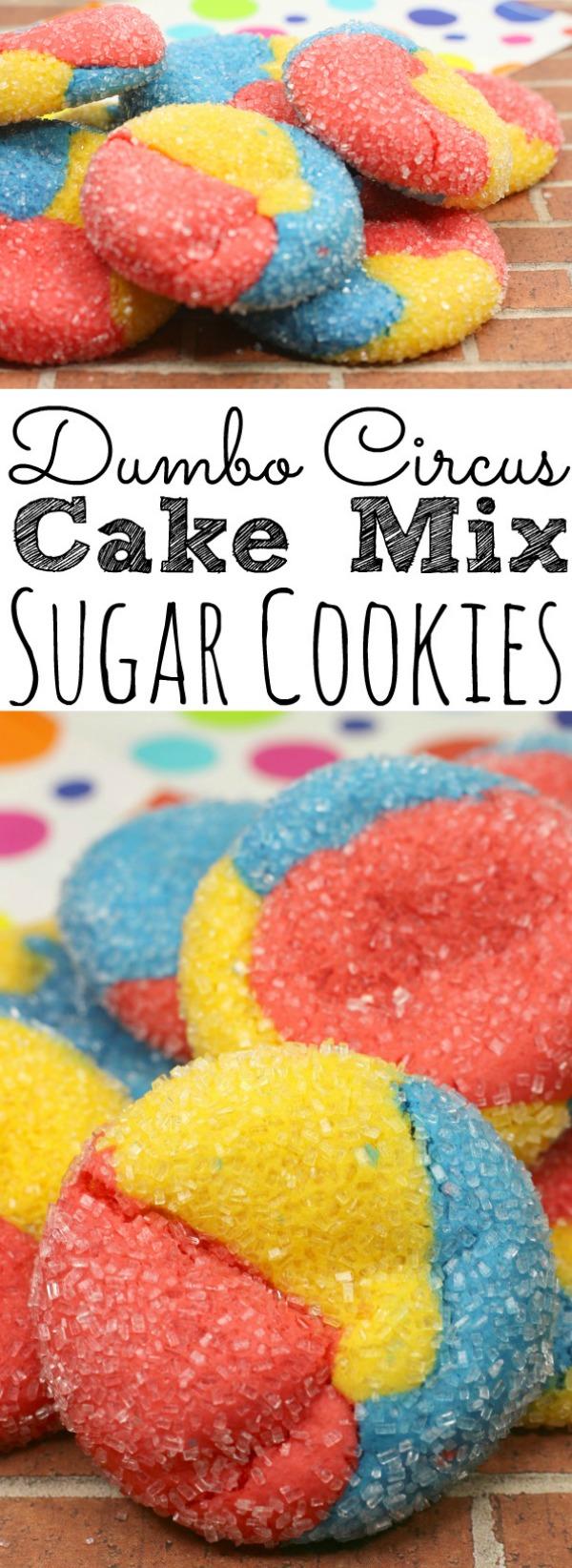 Disney Dumbo Inspired Sugar Cookies