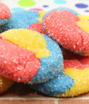 Dumbo Inspired Sugar Cookies