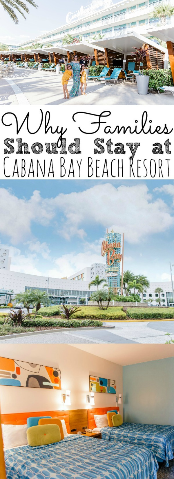 Why Families Should Stay At Cabana Bay Beach Resort