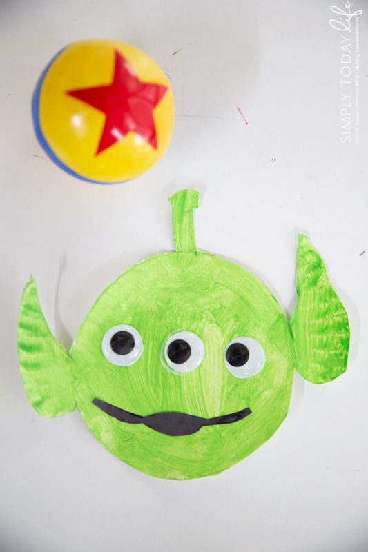 How To Make A Toy Story Alien Paper Plate Craft