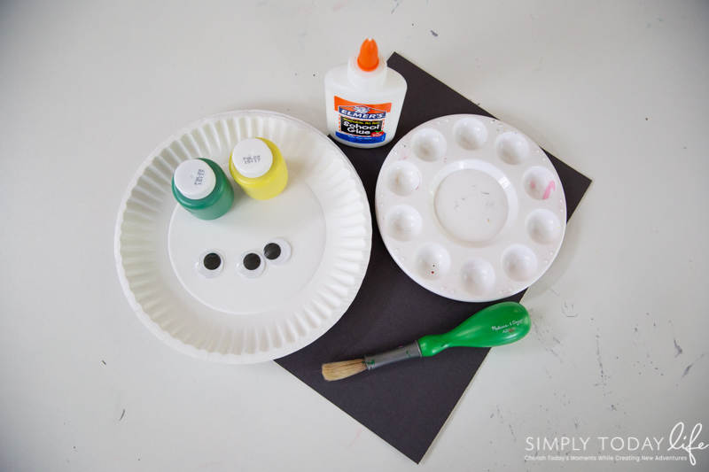 Supplies Needed For Toy Story Alien Craft