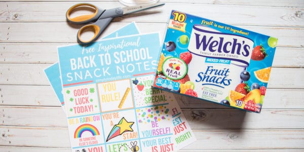 Free Lunch Box Printables For Back To School