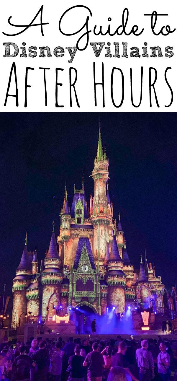 Villains After Hours at Disney