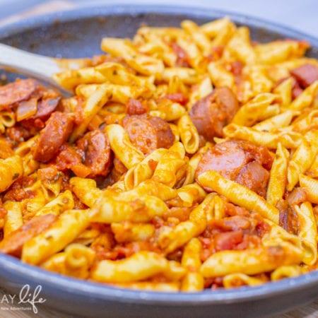 Easy One Pan Sausage Pasta Recipe