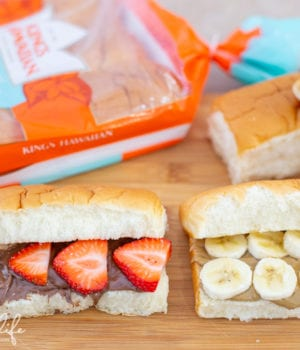 Mini Sub Rolls Back to School Lunch Ideas For Kids