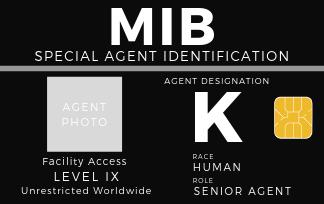 Men In Black International Identification Cards Simply