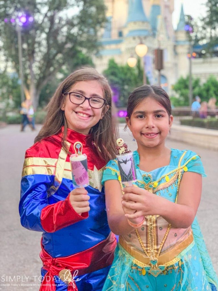 Jack and Sally Push Pops Desserts At Disney