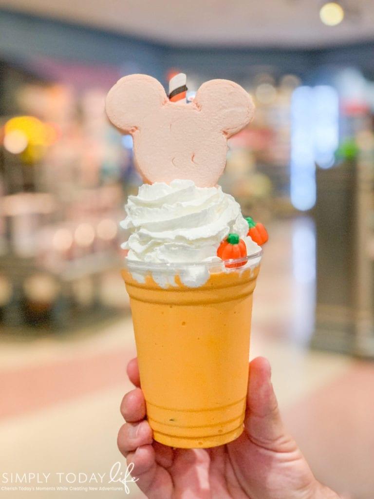 Mickey's Not So Scary Halloween Party Pumpkin Spice Milkshake