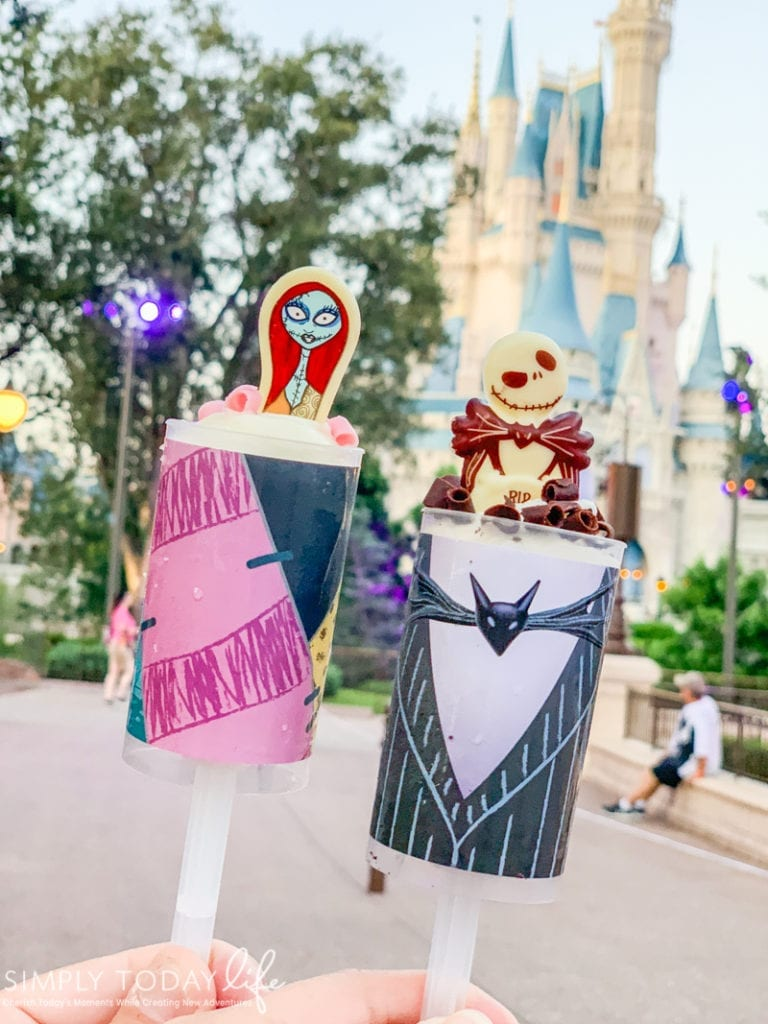 Sally and Jack Halloween Desserts At Disney