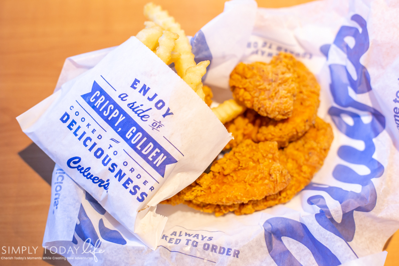 Culver's Buffalo Chicken Tenders