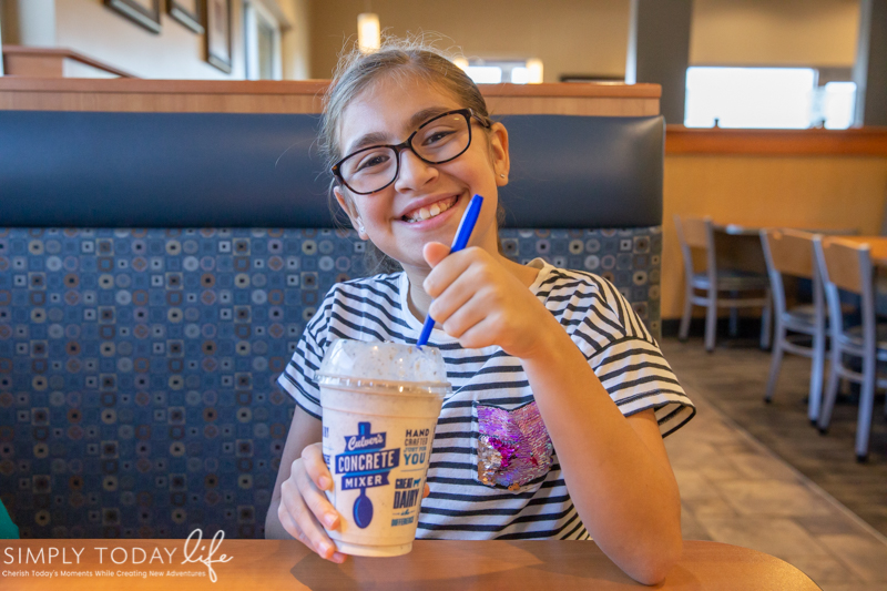 Culver's Concrete Ice Cream