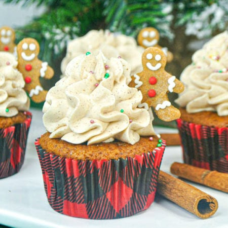Gingerbread Cupcake Recipe With Cinnamon Frosting