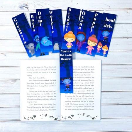 Vampirina Printable Bookmarks