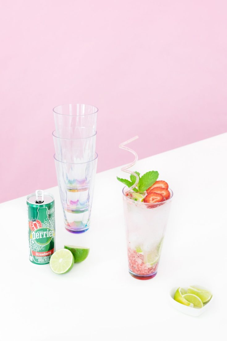 Strawberry Mojito Mocktail