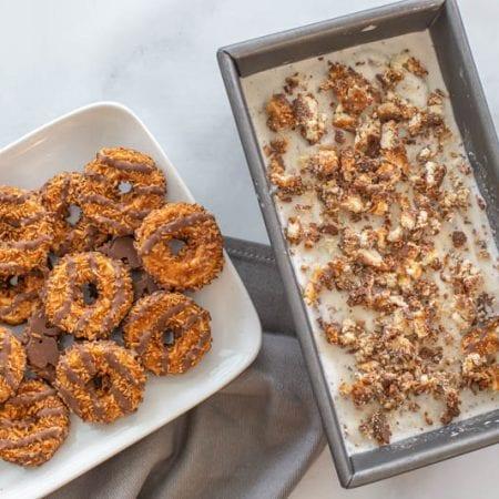 Coconut Fudge Cookie Ice Cream Recipe