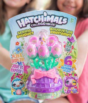 Hatchimals Spring Bouquet Easter Basket