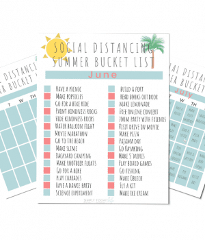 Summer Bucket List 2020 Social Distancing